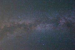 Предпосылка Milky путя Стоковая Фотография