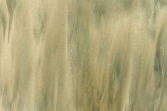 Предпосылка Sandy Влажная текстура песка Стоковое Фото