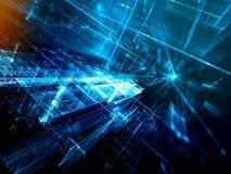 Предпосылка Sci fi - конспект цифров произвел изображение Стоковые Изображения RF