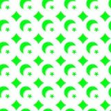 Предпосылка Sequins зеленого цвета Fluo безшовная иллюстрация штока