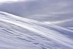 Предпосылка Snowy зимы ландшафта минимализма стоковое фото rf