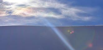 Предпосылка Snowy зимы ландшафта Abstarct стоковое изображение