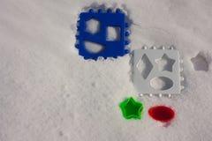 Предпосылка Snowy Концепция стоковая фотография