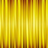 Предпосылка striped золотом Стоковое Изображение