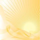 Предпосылка Sun, вектор Стоковые Изображения