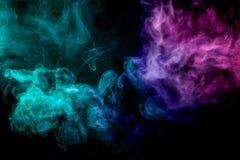 Предпосылка vape дыма стоковая фотография