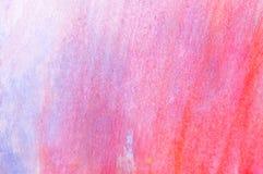 Предпосылка Watercolour бумажная для художественного произведения в много цвет, апельсин, белизна и синь Стоковые Изображения RF