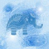 Предпосылки вектора красочные праздничные сеть универсалии шаблона страницы приветствию карточки предпосылки Голубые brushstrokes иллюстрация штока