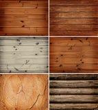 предпосылки деревянные Стоковые Фотографии RF