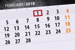 Предпосылки календарь дела ежедневно ежемесячно изолируемый иллюстрация штока