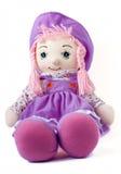 предпосылки куклы белизна мягко Стоковая Фотография RF