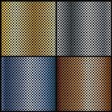 предпосылки металлические Стоковые Изображения RF