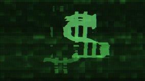 Предпосылки петли взаимодействия экрана небольшого затруднения знака доллара цифров дело технологии безшовной новое динамическое  бесплатная иллюстрация