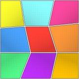 Предпосылки полутонового изображения цвета установленные для пузырей речи бесплатная иллюстрация