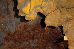 Предпосылки ржавчины - совершенная предпосылка с космосом для текста или ima стоковая фотография rf