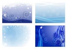 Предпосылки рождества Стоковые Фотографии RF