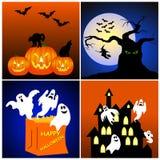 предпосылки halloween Стоковое Изображение RF