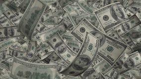 100 предпосылок счетов доллара США, вклад в деле, финансы и банк Стоковые Фото