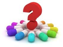 предпочитайте таблетки которые Стоковые Изображения RF