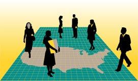 предприниматели всенародные Стоковое фото RF