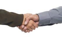 Предприниматели - рукопожатие Стоковое Изображение