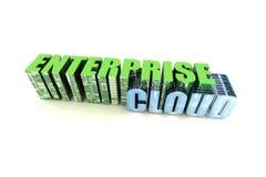 предпринимательство облака стоковая фотография
