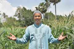 предприниматель фермы стоковая фотография