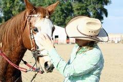 предприниматель 2 лошадей Стоковая Фотография RF