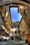 предсердие ljubljana старая Словения стоковое фото rf