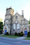 Представительная церковь города стоковая фотография rf