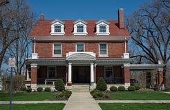Представительный дом с 3 Dormers стоковые изображения rf