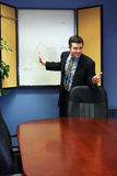 представление бизнесмена стоковое изображение