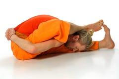 Представление йоги Стоковые Фотографии RF