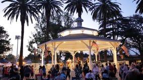 Представление музыки в парке