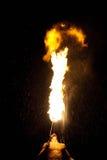 представление пожара едока Стоковая Фотография