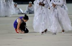 представление танцульки большое подготовляя маштаб Стоковые Фотографии RF