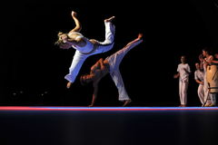 представление capoeira Стоковые Фото