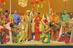 Представление @ Istana Budaya драмы этапа стоковое изображение rf
