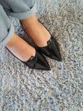 Представление n ботинок моды Стоковые Изображения