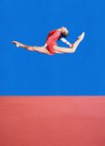 представления гимнастики стоковая фотография rf