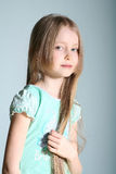 представления модели девушки Стоковые Фотографии RF