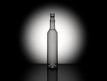 представленная бутылка 3d Стоковые Фотографии RF