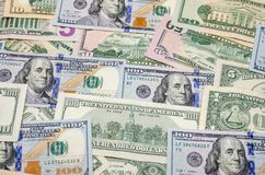 представляет счет доллар несколько Стоковые Изображения
