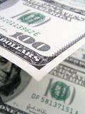 представляет счет доллар 100 одно Стоковое Фото