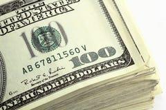 представляет счет доллар 100 Стоковая Фотография RF