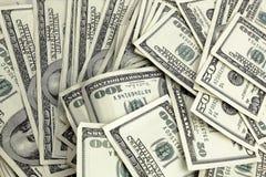 представляет счет доллар 100 Стоковая Фотография