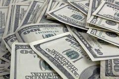 представляет счет доллар 100 Стоковое Изображение RF