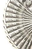 представляет счет доллар 100 Стоковые Изображения