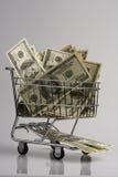 представляет счет доллар Стоковое фото RF