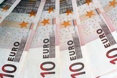 представляет счет евро 10 Стоковое Фото